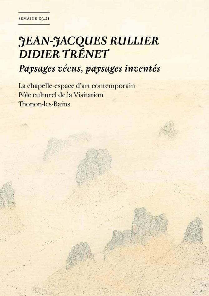 Semaine n°444, revue hebdomadaire pour l'art contemporain Texte : Philippe Piguet Parution vendredi 15.01.2021 Édition papier, 16 pages, 4 €